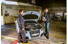 BTRS-AUDI RS 3 Sportback, Motorhaube