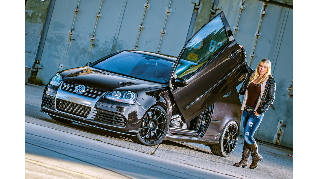 BTRS-VW Golf R32, Frontansicht