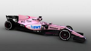 BWT - Force India - Rosa - 2017