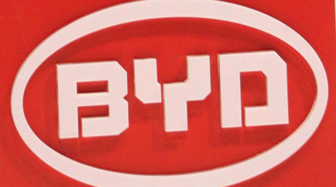 BYD Build Your Dreams Logo