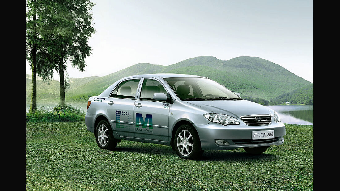 BYD, China, Modellpalette, Build Your Dreams