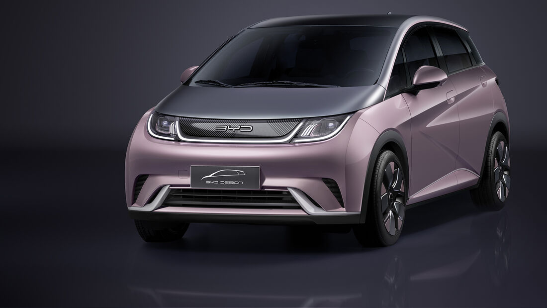 BYD Dolphin 800 Volt 2021
