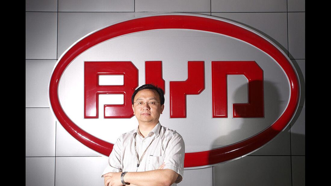 BYD Logo Wang Chuanfu