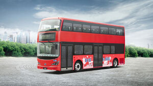 BYD London Bus Doppeldecker