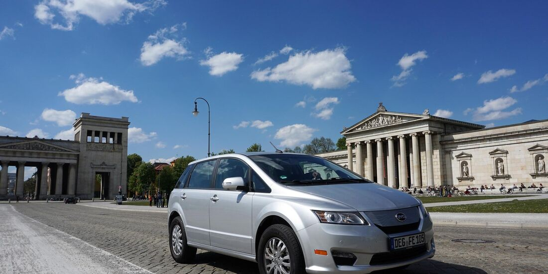Byd E6 2016 Wie Fährt Das Elektroauto Aus China Auto Motor Und