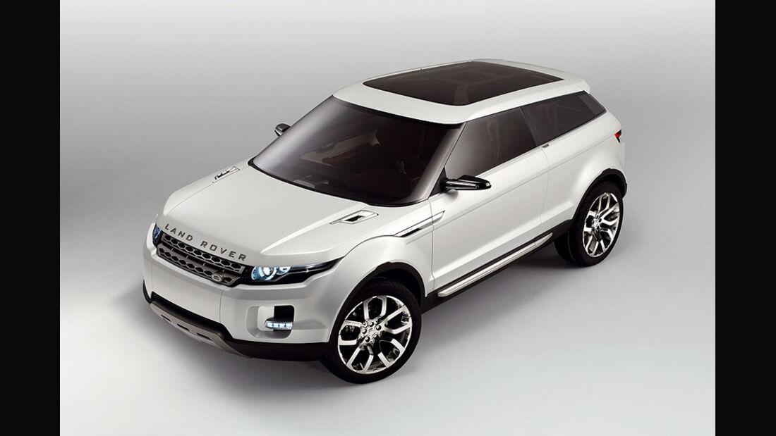 Baby-Range: Studie Land Rover LRX
