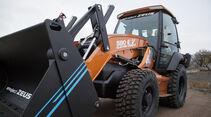 Bagger-Lader Case 580 EV