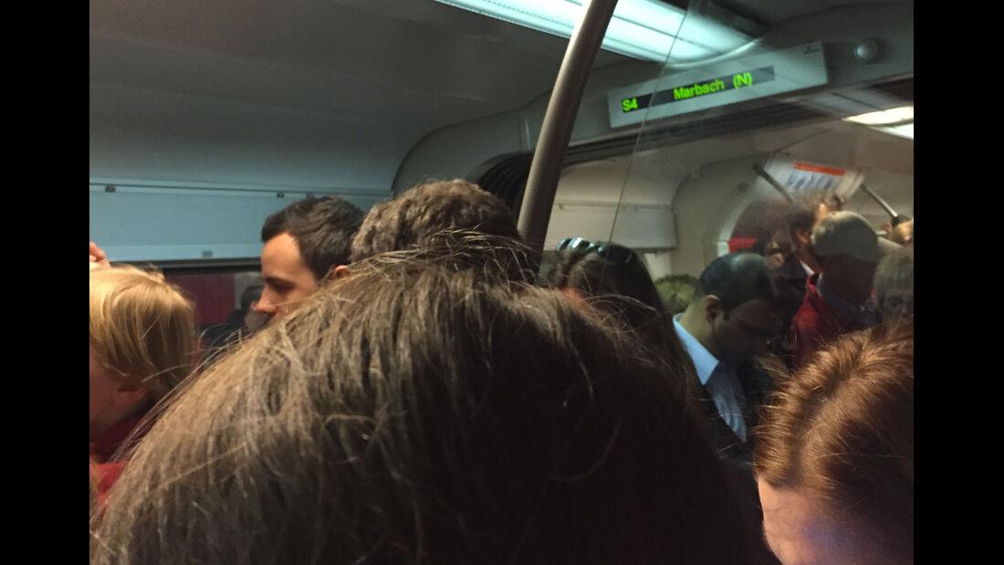 Bahnstreik 2105 in der S-Bahn