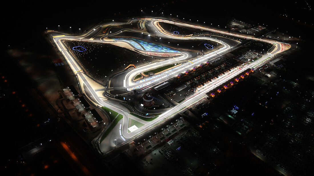 Bahrain - F1-Strecke - Luftbild