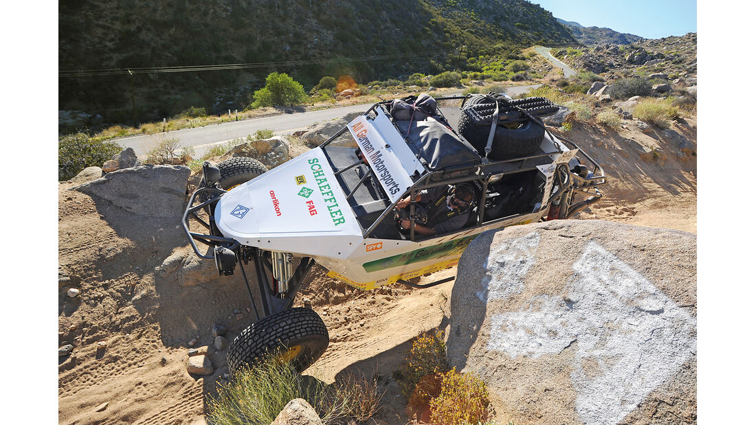 Baja California, Goat Trail
