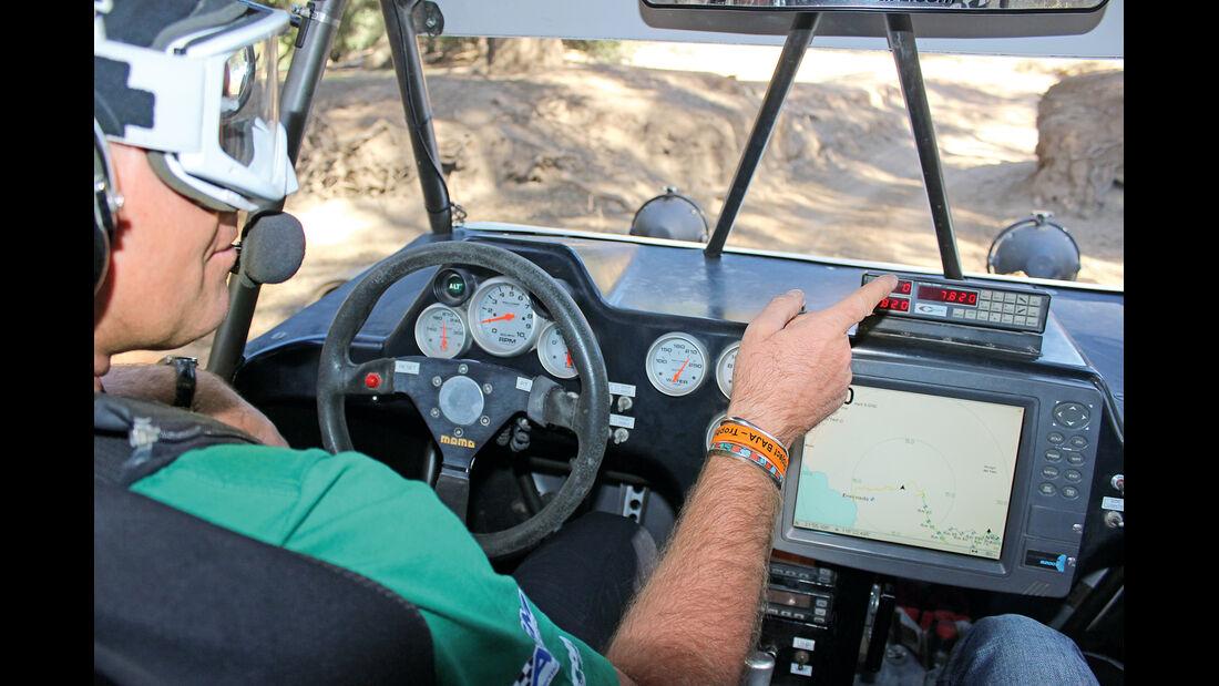 Baja California, Prerunner, Cockpit, GPS