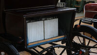Baker Electric 1904, Bateriekasten, Detail