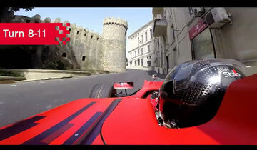 Baku City Circuit - Aserbaidschan - GP3 - Onboard - Screenshot