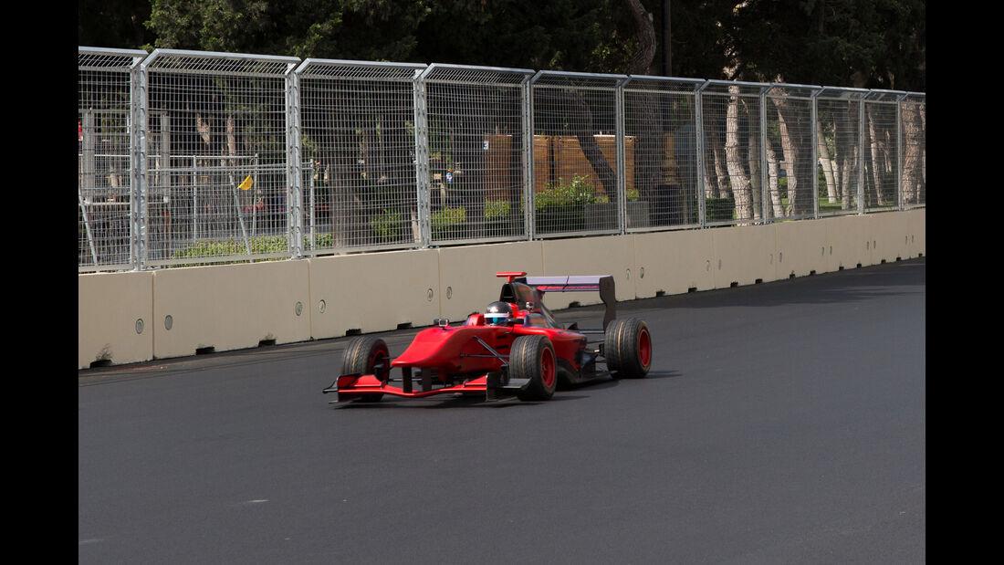 Baku City Circuit - Aserbaidschan - GP3 Test Drive - 2016
