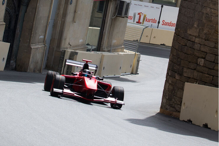Baku City Circuit - Aserbaidschan - GP3 Test Drive - 2016