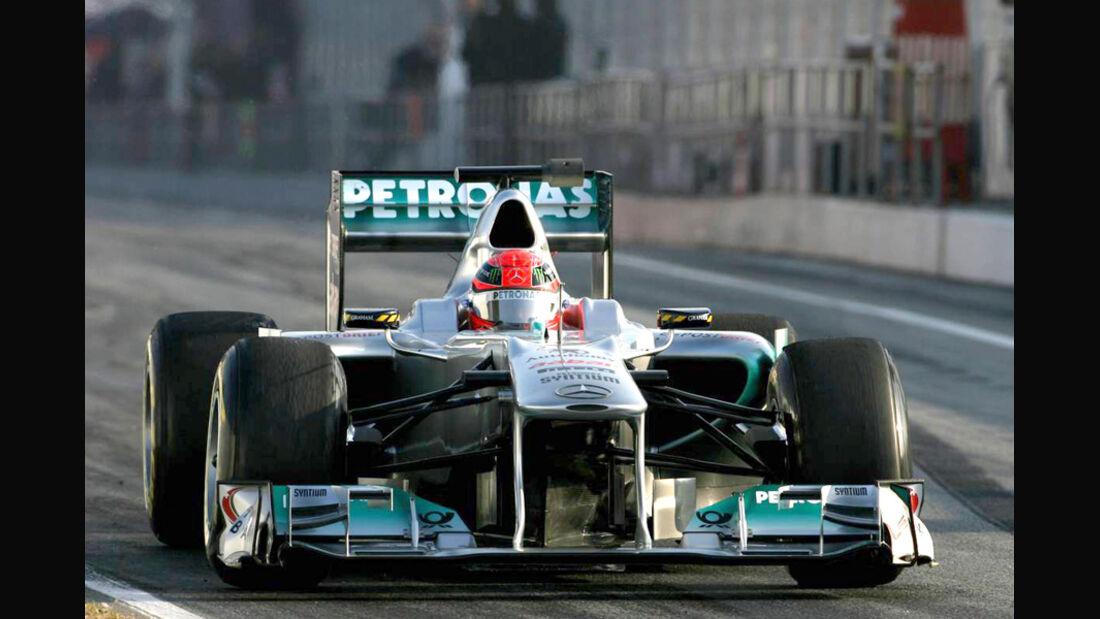 Barcelona F1-Test 2011