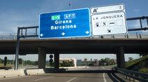 Barcelona-Schild