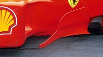 Bargeboard - Ferrari - GP Malaysia 1999