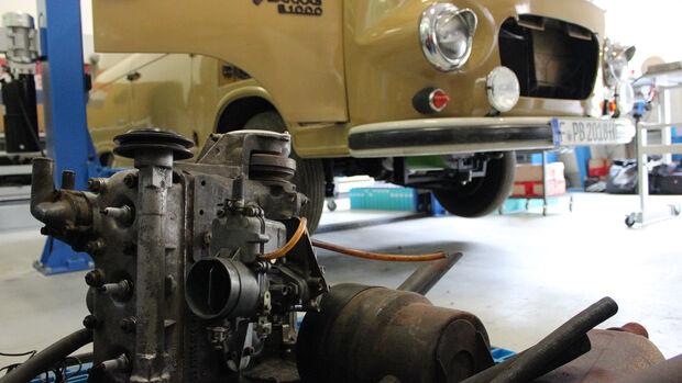 Barkas B 1000 Elektro Motor