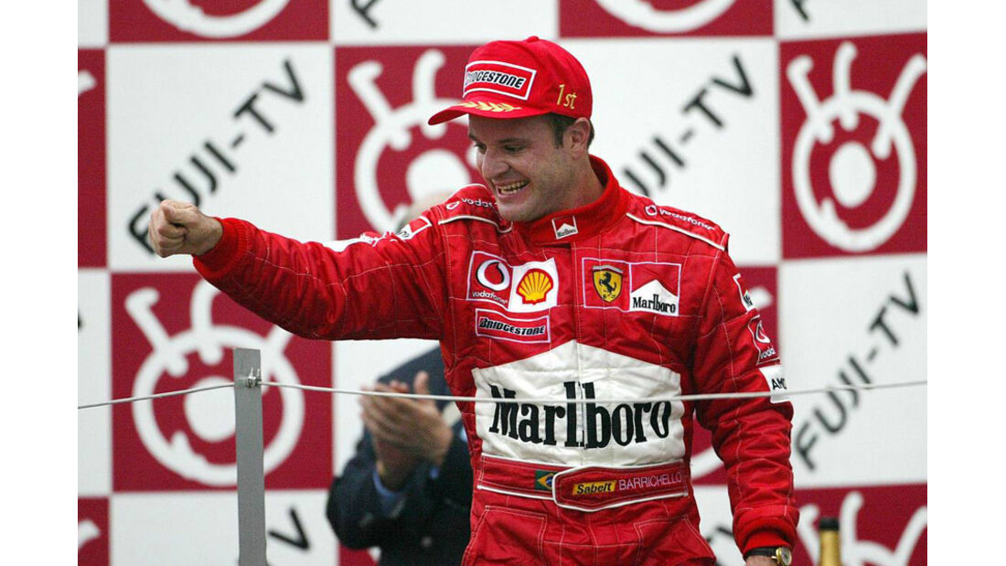 Barrichello 2003 GP Japan