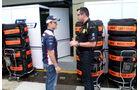 Barrichello & Boullier - GP Brasilien - 24. November 2011