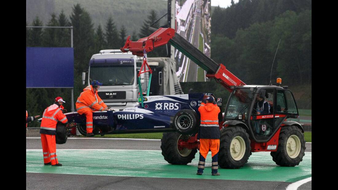 Barrichello Crash