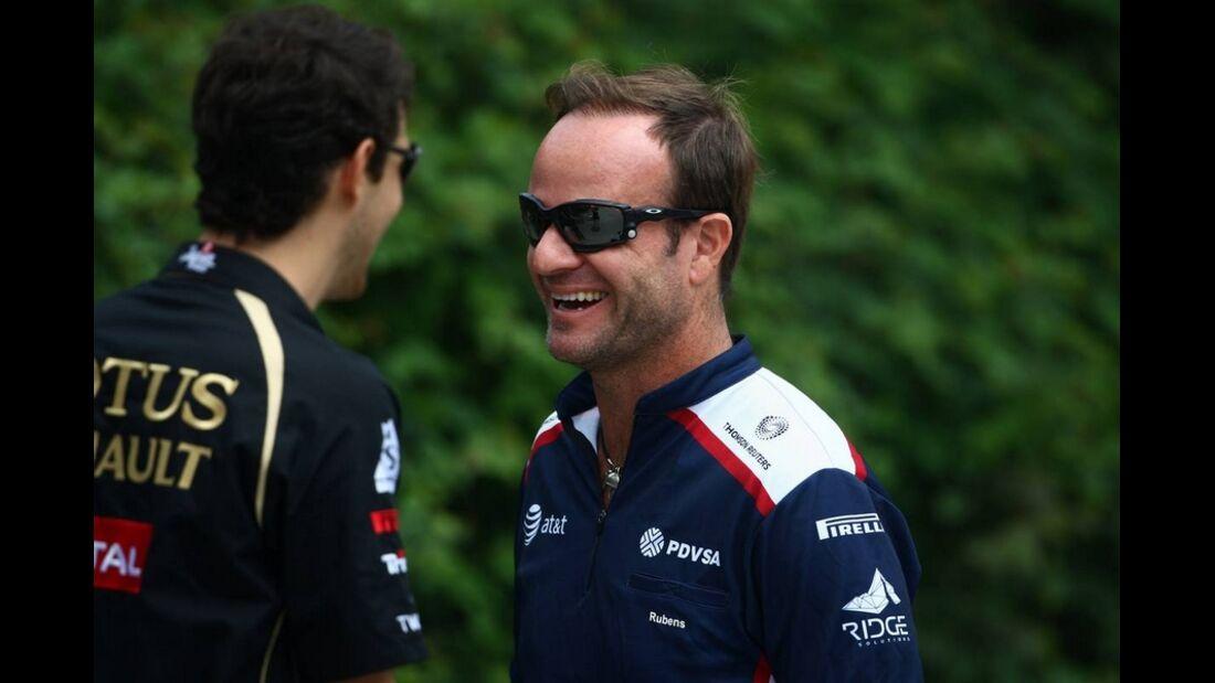 Barrichello Formel 1 GP China 2011