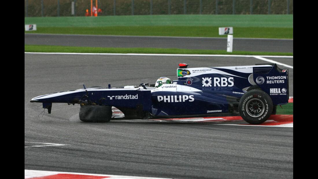 Barrichello GP Belgien
