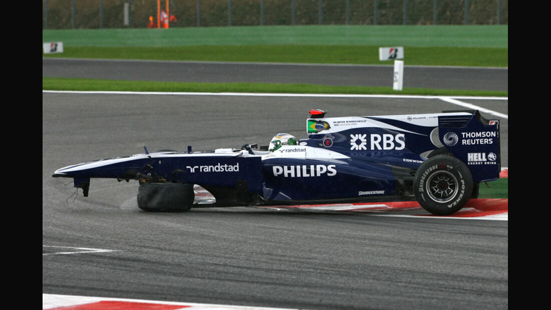 Barrichello GP Belgien