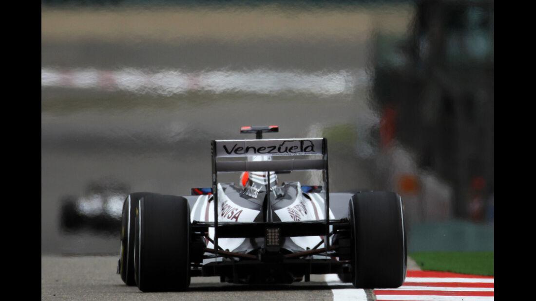 Barrichello GP China 2011