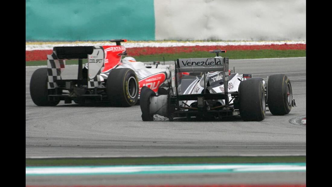 Barrichello GP Malaysia 2011