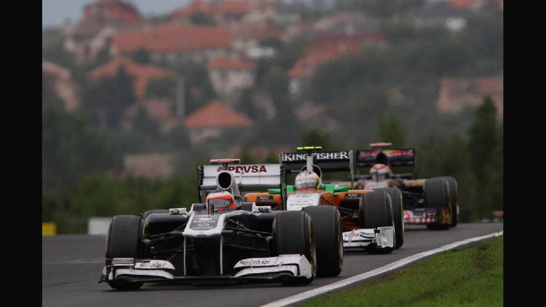 Barrichello - Noten - GP Ungarn - Formel 1 - 31.7.2011