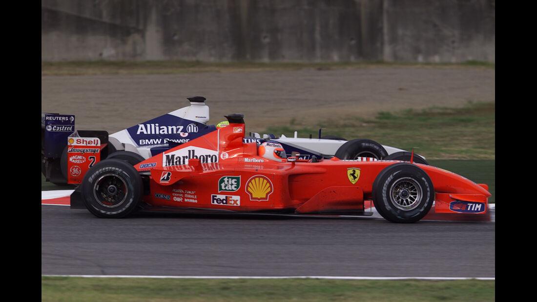 Barrichello Ralf Schumacher GP Japan 2001