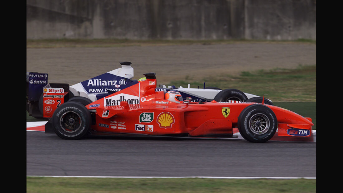 Barrichello Ralf Schumacher GP Japan 2001