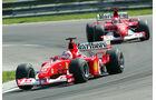 Barrichello & Schumacher - Ferrari - Formel 1 2002