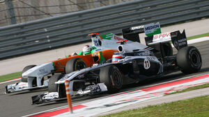 Barrichello & Sutil