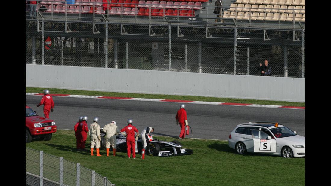 Barrichello Test 2011