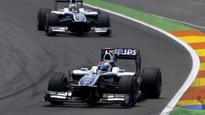 Barrichello und Hülkenberg