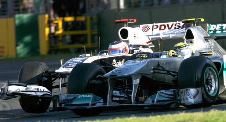 Barrichello vs. Rosberg