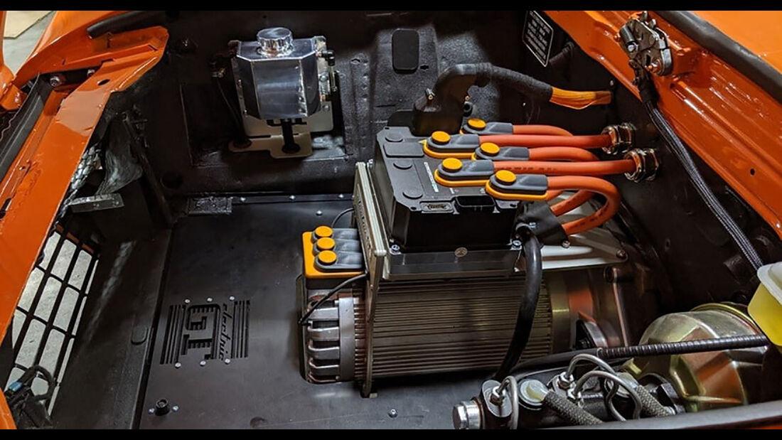 Barrington Roadster EV Fiat 124 Spider Elektroumbau