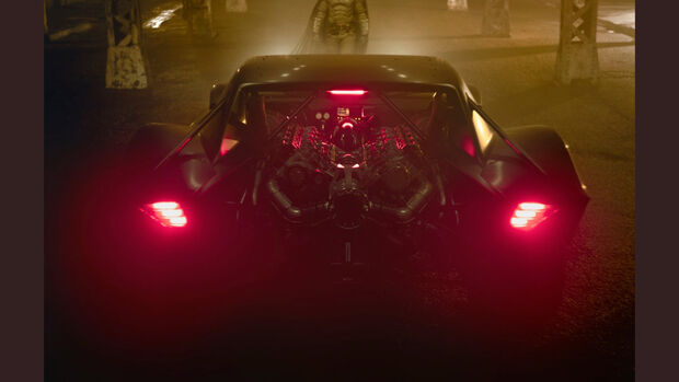 Batmobil 2021 Matt Reeves