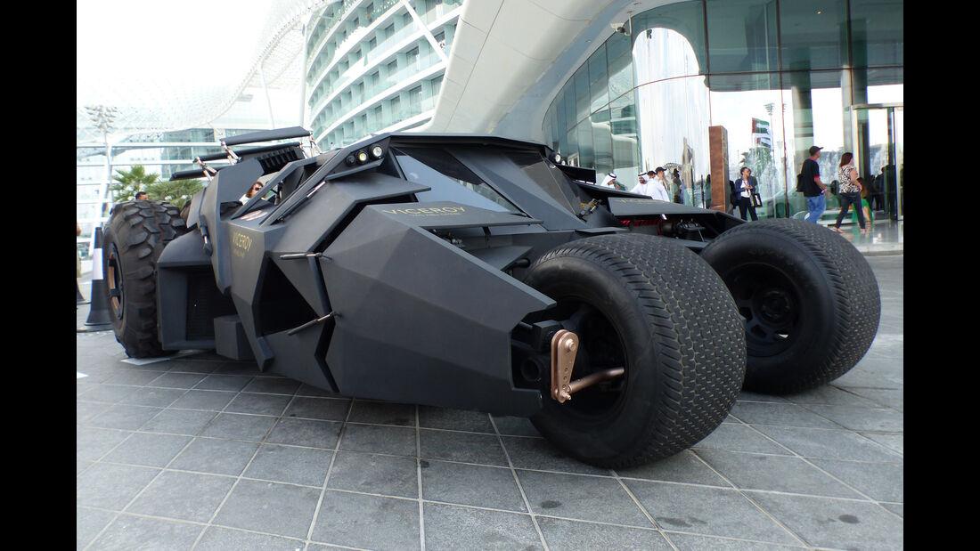 Batmobil - GP Abu Dhabi - Carspotting 2015
