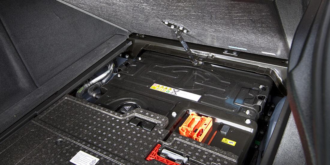 Batterie-Paket im BMW Active Hybrid X6