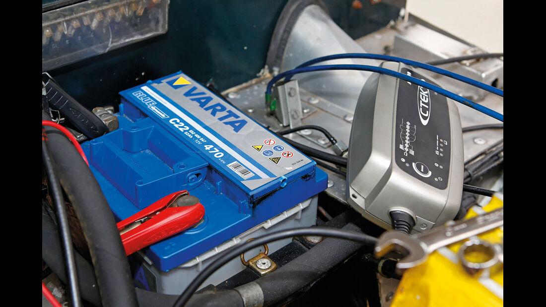 Batterie, Tiefentladung