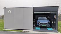 Batterie-Wechselstation von Nio