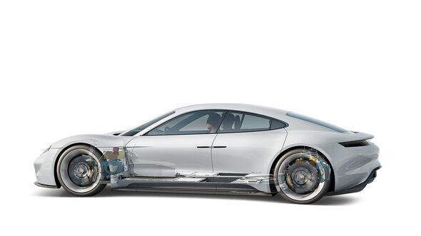 Batterietechnik, Porsche