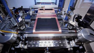 Batteriezellenfertigung BMW Pilotwerk