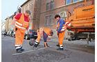 Bauamt, Mitarbeiter, Straßenschäden