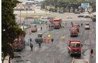 Bauarbeiten - Baku - GP Aserbaidschan 2016