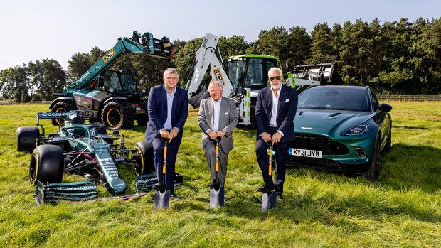 Baubeginn - Fabrik - Aston Martin 2021